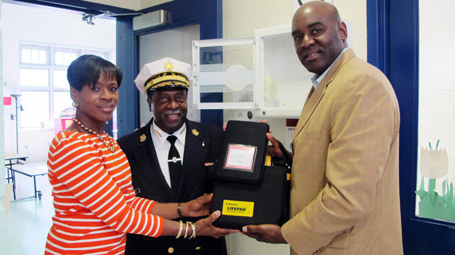 Rec Centers Equipped with Lifesaving Equipment